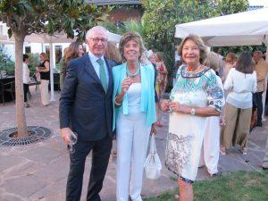 Juan de Orbaneja, Presidente de Amsudan en la cena del Club de Polo de Barcelona